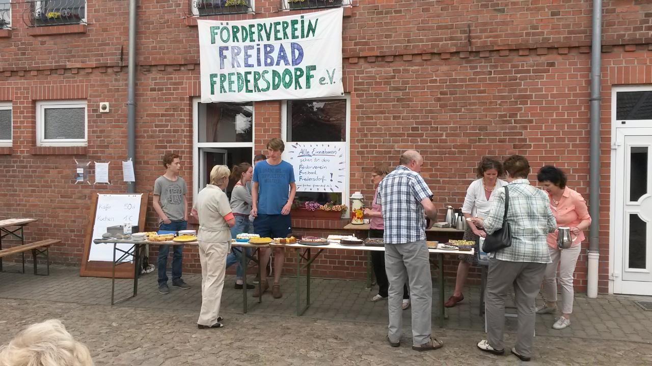 Kuchenbuffet F�¶rderverein