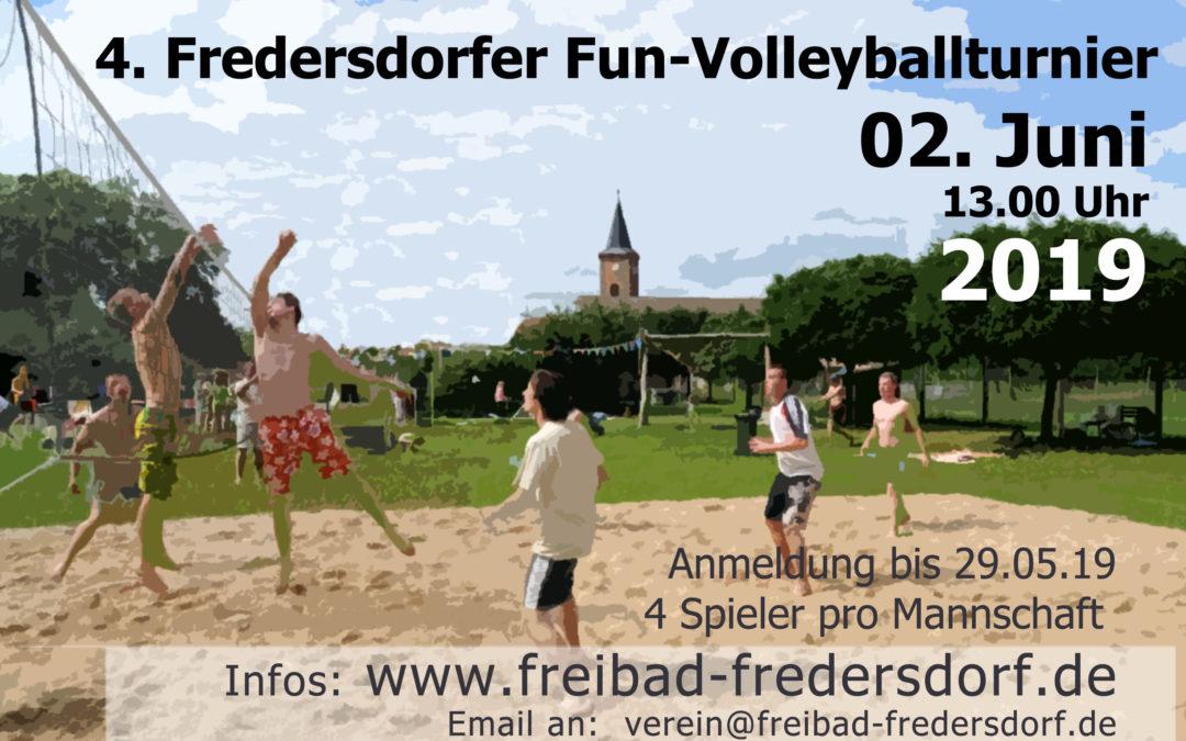 4. Fun – Volleyballturnier